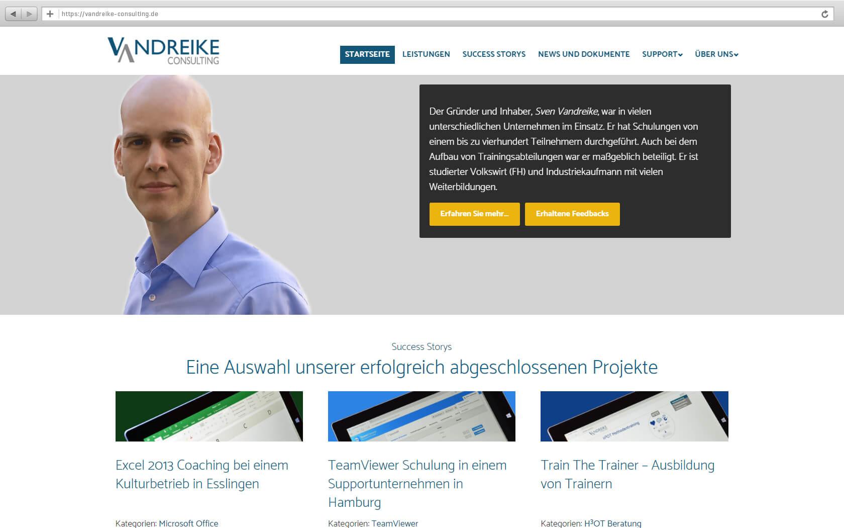 Website Produkt-Filterung