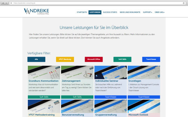 Neue Unternehmens Webseite Mit Wordpress Webdesign Aus Stuttgart