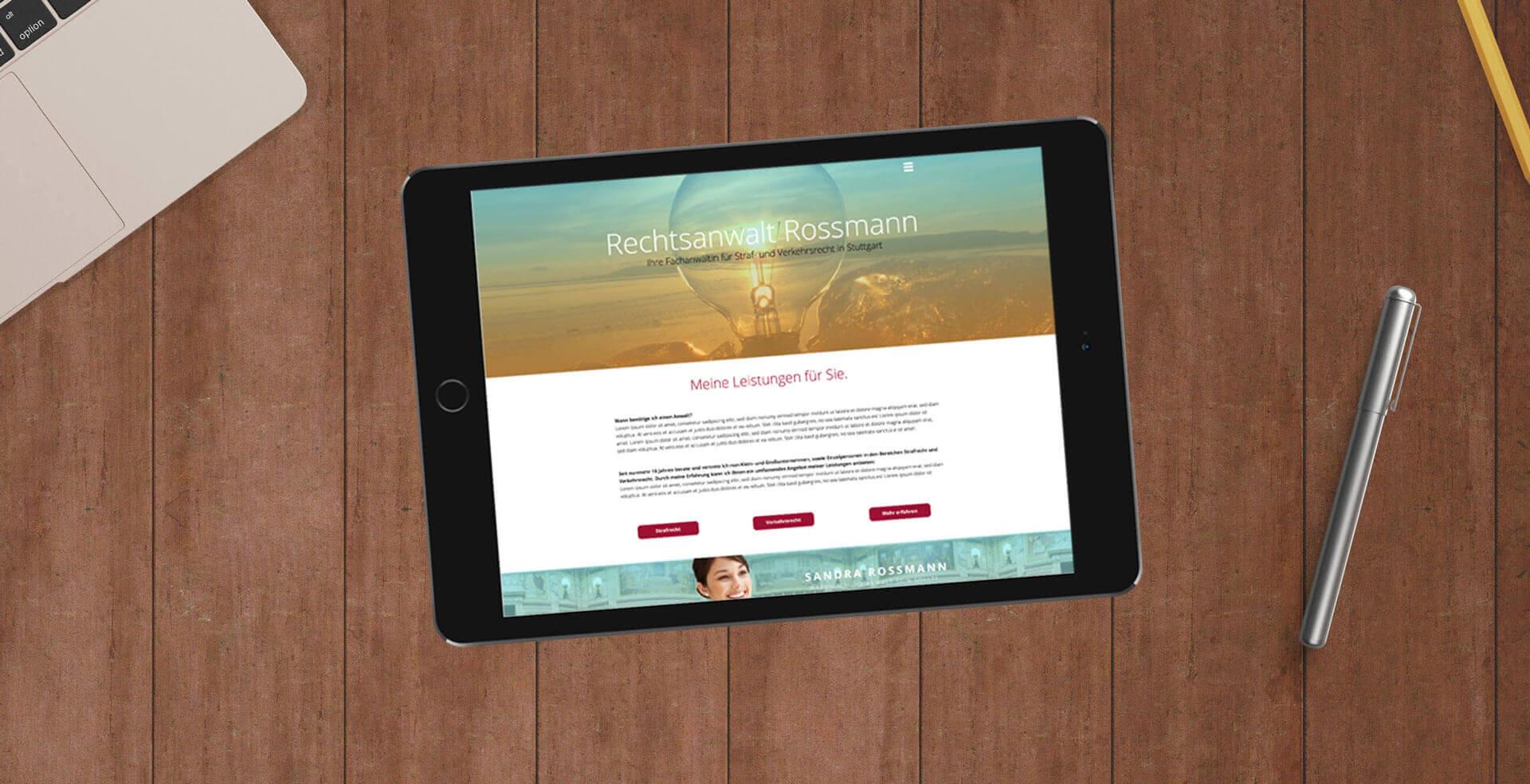 Corporate Website von der WordPress-Agentur Stuttgart